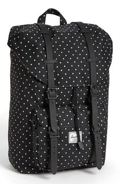 Polka Dot Black  White Herschel Supply Co Backpack
