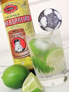 Gonna make this to sip while watching the World cup! - Caipirinha recipe - brazilian cocktail