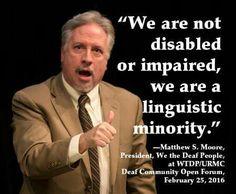 Deaf Quotes, Deaf People, Disability, Language, Teaching, Memes, Deaf Culture, Numb Quotes, Meme