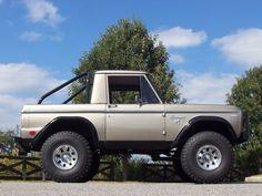1969 Ford Bronco  | 1969 Ford Bronco Half Cab