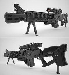 Gauss Rifle by Dmitriy Kashtanov