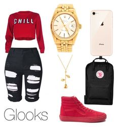 Untitled #11 by jenealtreasure on Polyvore featuring polyvore fashion style Vans Fjällräven Rolex clothing