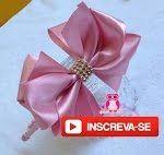 """Aprenda a fazer esta linda flor """"beliscada"""" para valorizar ainda mais seus trabalhos... Neste vídeo usei a fita de cetim número 9, com as seguintes medidas: ..."""