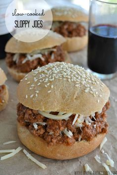 You just can't beat good 'ol classic sloppy joes for dinner on busy weeknights---This slow-cooked sauce is packed FULL of cozy fall flavors you'll love!