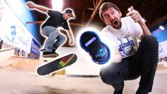 THE WORLD'S FIRST ELECTRONIC GAME OF SKATE?! – Braille Skateboarding: Braille Skateboarding – This video was sponsored by FLYPS. We were…