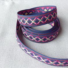 Aztec geometric ribbon / Premium quality by LostPropertyHongKong Black Ribbon, Fraternity, Aztec, Etsy Store, Hong Kong, Life Hacks, Crafting, Lost, Fabric