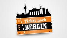 Ticket nach Berlin Deutsch lernen Niveaustufe: B1, B2 Medien: Video, E-Learning, Text (Download) Sprache: Deutsch