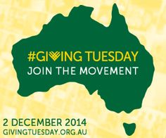 #GivingTuesday - 2 December 2014