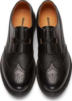 08Sircus Black Leather Brogues
