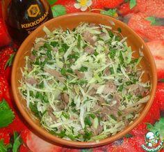 Капустно-мясной салат