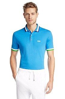 Regular fit cotton polo shirt 'Peddys'