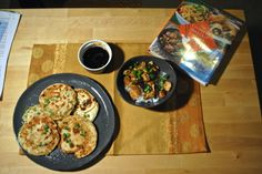 Kung Pao Chicken with Scallion Pancakes