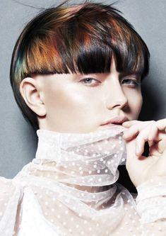 Wet Look, Sideburns, Coloured Hair, Hair Trends, My Hair, Pixie, Short Hair Styles, Stylists, Photos
