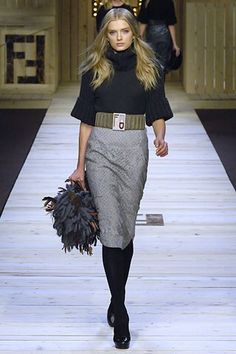 Fendi - Fall 2007 Ready-to-Wear