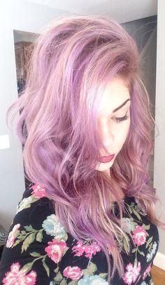 Lavender Hair by Ste