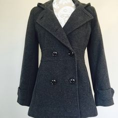 Kenneth Cole Reaction coat.   Kenneth Cole Reaction coat  size 2. Worn once. Too small for me. Very cute coat with great quality  Price is firm. Kenneth Cole Reaction Jackets & Coats