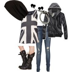 """colorless"" by ktmac92 on Polyvore"