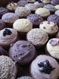 Lavendar Cupcakes