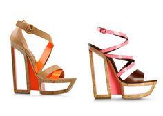 Moda Preview | Casadei Colección The Calder Primavera-Verano 2012. Tendencia Flúor | http://www.modapreviewinternational.com
