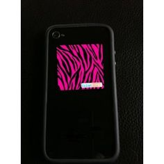 HOT! (3 Pack) Pink Zebra Print- Sticky Microfiber Cleaning Pad for iPhones, smartphones, tablets and other electronic devices! (Electronics)