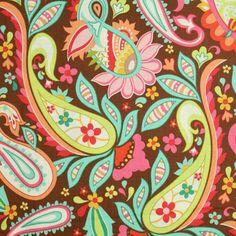 Riley Blake Sweet Nothings Paisley Brown Fabric by the Yard Riley Blake Designs http://www.amazon.com/dp/B004QPEQJG/ref=cm_sw_r_pi_dp_04zEvb1S42V8N