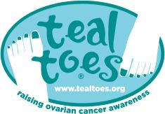 Teal Toes:  Helping to Raise Cervical Cancer Awareness