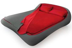 Zipper Bed! No more fighting over covers!!