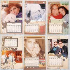 Vive, Crea, Scrapea: Calendario 2014 (II)