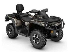 New 2016 Can-Am Outlander MAX Limited Deep Pewter Satin ATVs For Sale in Illinois. 2016 Can-Am Outlander MAX Limited Deep Pewter Satin, For the rider who wants it all, we're got you covered. Featuring performance suspension, premium wheels, strategically placed controls, and unmatched versatility, the Outlander MAX LIMITED is the most luxurious ATV available.