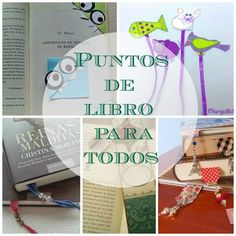 Puntos de libro para todos | Aprender manualidades es facilisimo.com
