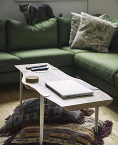 Create A Low Table From Any Flat Surface With The Floyd Leg 16