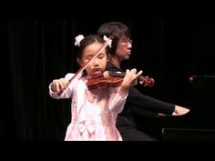 """Mercedes Cheung, 6 Years Old: Zigeunerweisen ( Sarasate ) """"Yeah! I'm Still Six""""—See more of this young violinist #from_mercedescheung1"""