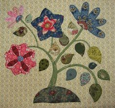 Caswell Quilt block C4 | JANE'S THREADS AND TREASURES