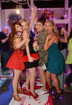 'Awkward.' girls know how to party!