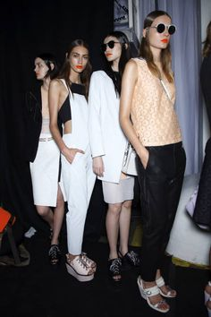 Rag and Bone Spring 2014 Ready-to-Wear Backstage -