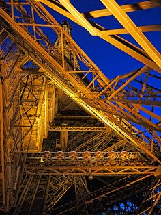 France Paris Eiffel Tower, August 2011