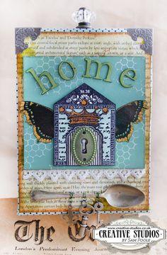 'Art Houses' stamp set designed by Sam Poole