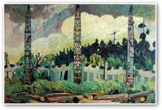 Emily Carr - Tanoo, Queen Charlotte Islands (1913)