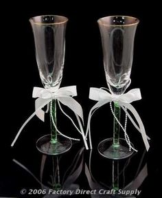 4841e2bc531  8.99- 38.99 Gold Rimmed Toasting Glasses - Set of 2 Toasting Flutes - Set  of