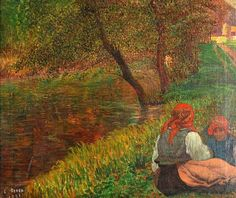 Ressu, Camil (1880-1962) - 1936 Women on the Grass (Private Collection) by RasMarley, via Flickr
