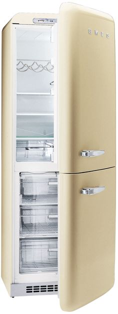 Smeg FAB32YNE Black Fridge Freezers Price Comparison