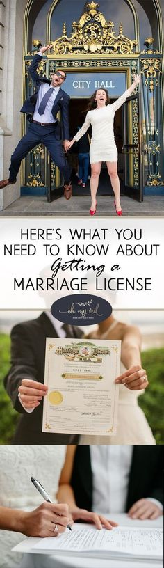 Here's What You Need to Know About Getting a Marriage License| Marriage License, Marriage License Tips, How to Get a Marriage License, Marriage, Weddings, Dream Weddings, DIY Wedding, Wedding Tips and Tricks #basicweddingtips #weddingtips