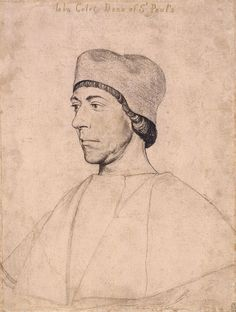 John Colet, Dean of St. Paul's, by Hans Holbein the Younger