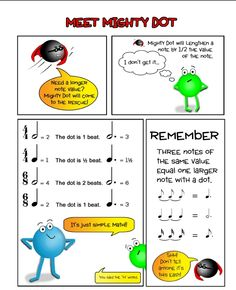 note rhythm worksheets | Assignments & Handouts - Jeniffer Smith Studios