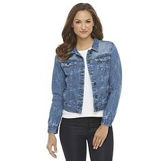 Canyon River Blues Women's Basic Denim Jacket