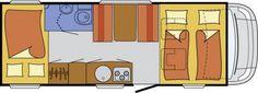 Wohnmobil Glücksmobil A 700 - Modell 2015 - ID: HC1930100 #Glücksmobil #A #700 #Wohnmobil - Caravans - Wohnwagen & Reisemobile