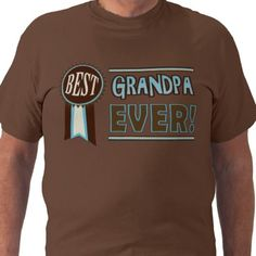 Retro Father's Day / Birthday Best Grandpa T-Shirt