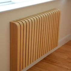 Wooden ash radiator cover: scandinavian by cool radiators? it's covered!, scandinavian wood wood effect Best Radiators, Home Radiators, Deco Design, Design Case, Cover Design, Modern Radiator Cover, Ideas Hogar, Wood Interiors, Trendy Bedroom