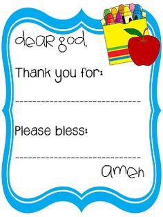 Sweet Blessings: Faith Prayers for every occasion Prayers For Children, Kids Prayer, School Prayer, Prayer Ideas, Catholic Crafts, Catholic Kids, Catholic School, Preschool Bible, Preschool Class