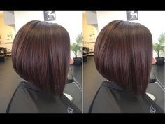 How to Cut Graduated Bob Haircut Tutorial Step by Step